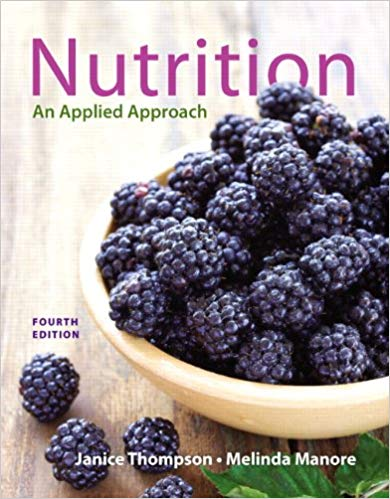 Test Bank for Nutrition Applied Approach