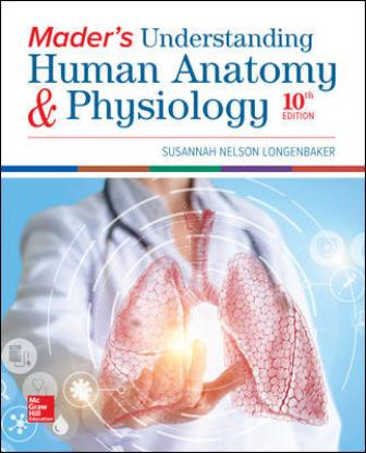 Test Bank for Mader's Understanding Human Anatomy & Physiology 10th Edition Longenbaker