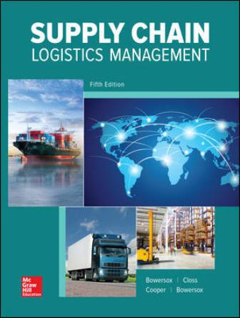 Test Bank for Supply Chain Logistics Management