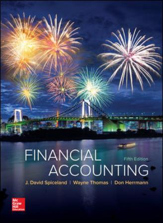 Test Bank for Financial Accounting 5th Edition Spiceland