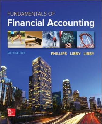 Test Bank for Fundamentals of Financial Accounting