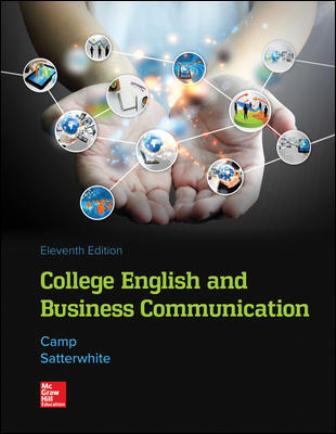 Test Bank for College English and Business Communication
