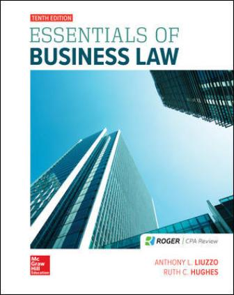 Test Bank for Essentials of Business Law
