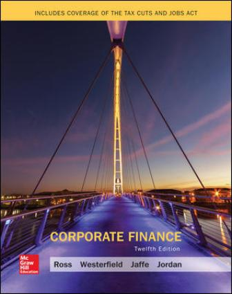 Test Bank for Corporate Finance 12th Edition Ross