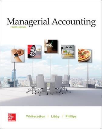 Test Bank for Managerial Accounting