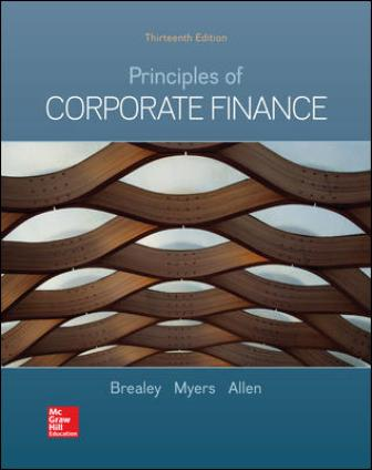 Solution Manual for Principles of Corporate Finance 13th Edition Brealey