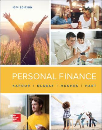 Test Bank for Personal Finance 13th Edition Kapoor