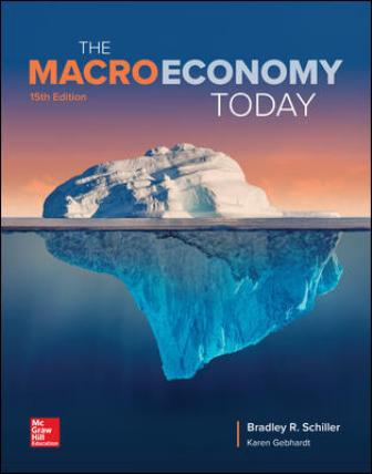Solution Manual for The Macro Economy Today, 15th Edition, Bradley Schiller, Karen Gebhardt, ISBN10: 1260105156, ISBN13: 9781260105155