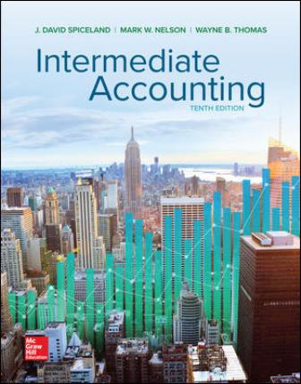 Test Bank for Intermediate Accounting 10th Edition Spiceland