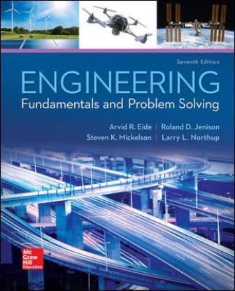 Test Bank for Engineering Fundamentals and Problem Solving