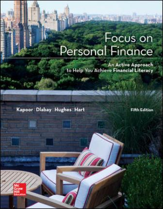 Solution Manual for Focus on Personal Finance