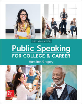 Test Bank for Public Speaking for College and Career