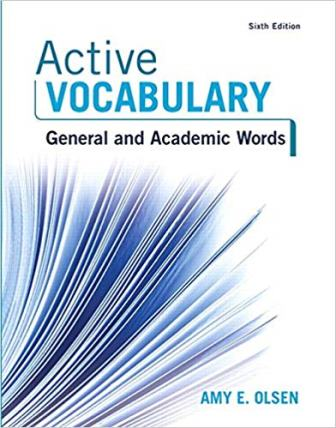 Test Bank for Active Vocabulary
