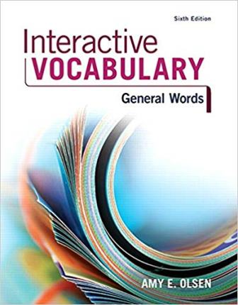 Test Bank for Interactive Vocabulary