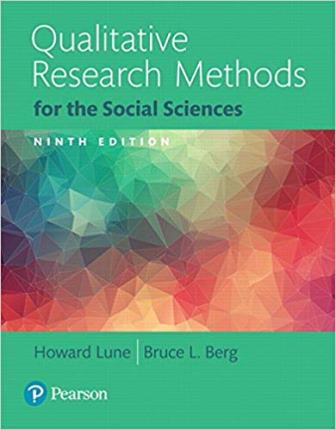 Test Bank for Qualitative Research Methods for the Social Sciences