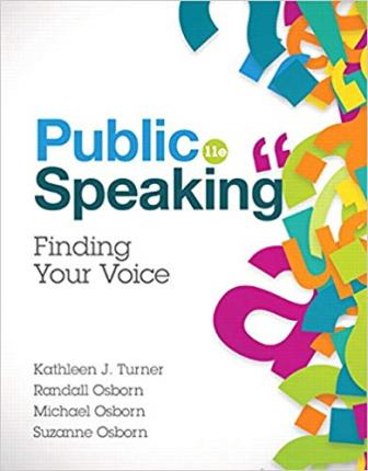 Test Bank for Public Speaking Finding Your Voice