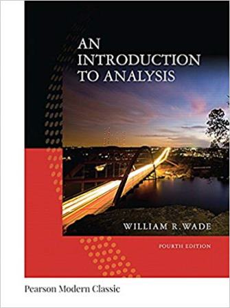 Solution Manual for An Introduction to Analysis