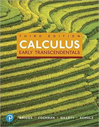 Test Bank for Calculus Early Transcendentals