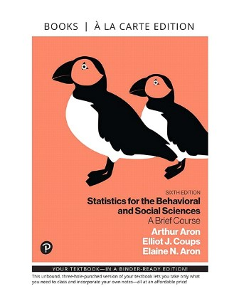 Test Bank for Statistics for the Behavioral and Social Sciences A Brief Course