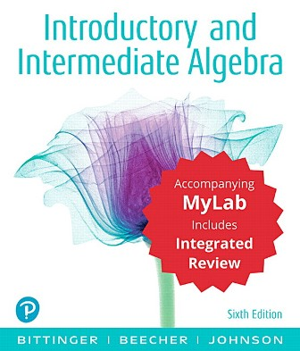Solution Manual for Introductory and Intermediate Algebra with Integrated Review