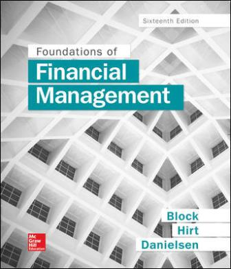 Test Bank for Foundations of Financial Management 16th Edition Block