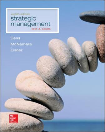 Test Bank for Strategic Management: Text and Cases