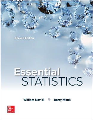 Solution Manual for Essential Statistics