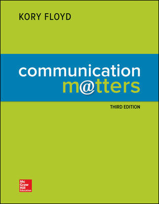 Test Bank for Communication Matters