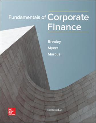 Test Bank for Fundamentals of Corporate Finance 9th Edition Brealey