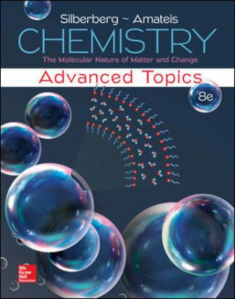 Solution Manual for Chemistry: The Molecular Nature of Matter and Change With Advanced Topics