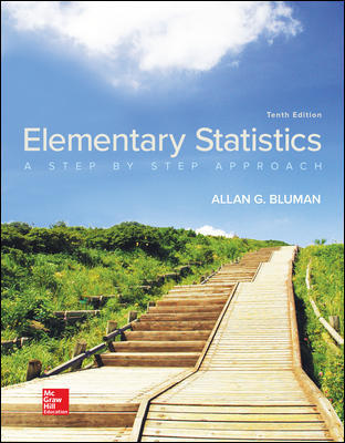 Solution Manual for Elementary Statistics: A Step By Step Approach