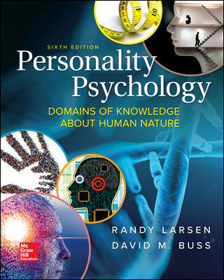 Test Bank for Personality Psychology: Domains of Knowledge About Human Nature