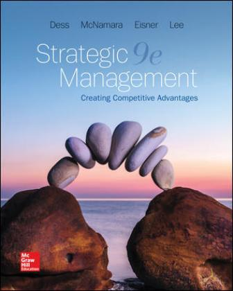 Solution Manual for Strategic Management: Creating Competitive Advantages