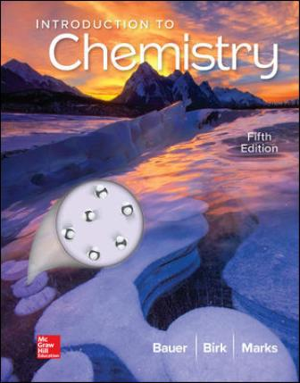 Test Bank for Introduction to Chemistry