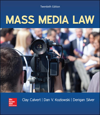 Test Bank for Mass Media Law