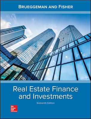 Test Bank for Real Estate Finance and Investments