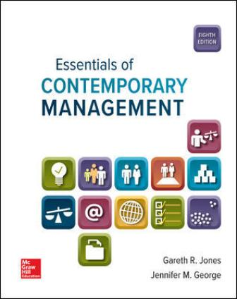Test Bank for Essentials of Contemporary Management