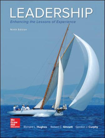 Solution Manual for Leadership: Enhancing the Lessons of Experience