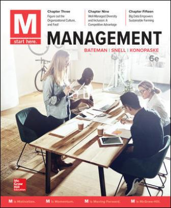 Solution Manual for M: Management