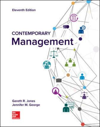 Solution Manual for Contemporary Management