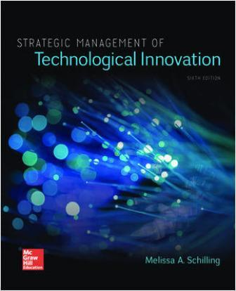 Solution Manual for Strategic Management of Technological Innovation