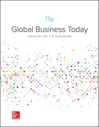 Test Bank for Global Business Today