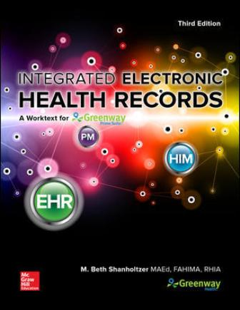 Test Bank for Integrated Electronic Health Records with Connect