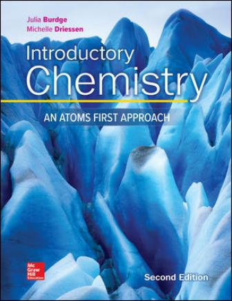 Solution Manual for Introductory Chemistry: An Atoms First Approach