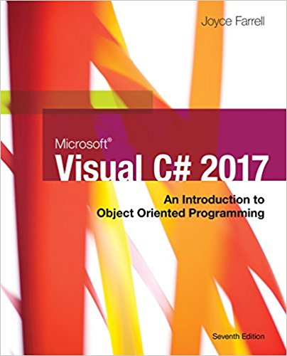Test Bank for Microsoft Visual C# 7th Edition Farrell