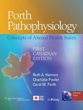 Test Bank for Porth Pathophysiology 1st Canadian Edition Hannon