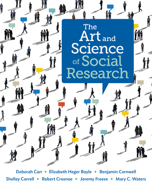 Test Bank for The Art and Science of Social Research 1st Edition by Deborah Carr