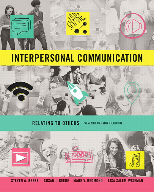 Test Bank for Interpersonal Communication: Relating to Others