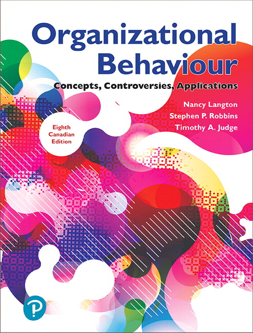 Solution Manual for Organizational Behaviour: Concepts