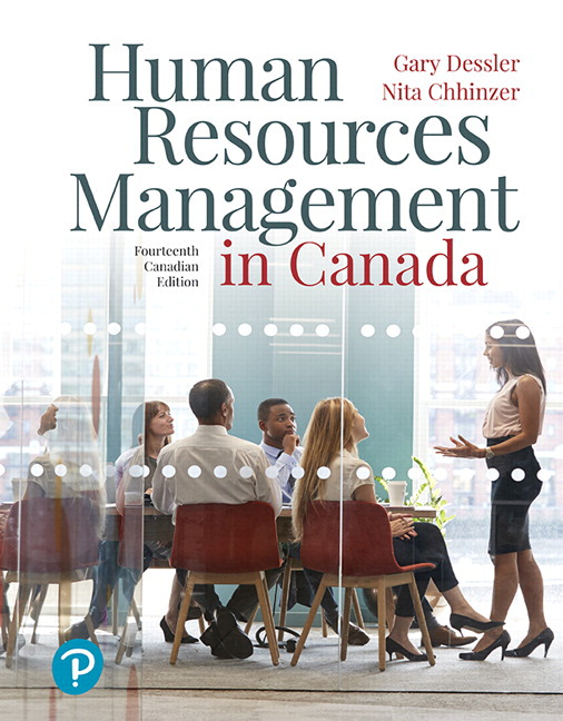 Test Bank for Human Resources Management in Canada
